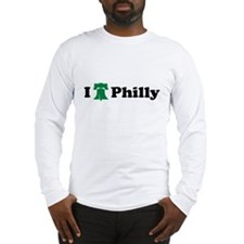 I LOVE PHILADELPHIA I LOVE PH Long Sleeve T-Shirt