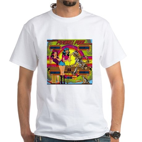 "Gottlieb® ""Pinball Pool"" White T-Shirt"