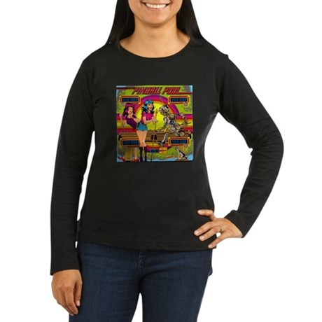 "Gottlieb® ""Pinball Pool"" Women's Long Sleeve D"