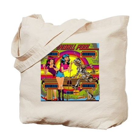 "Gottlieb® ""Pinball Pool"" Tote Bag"