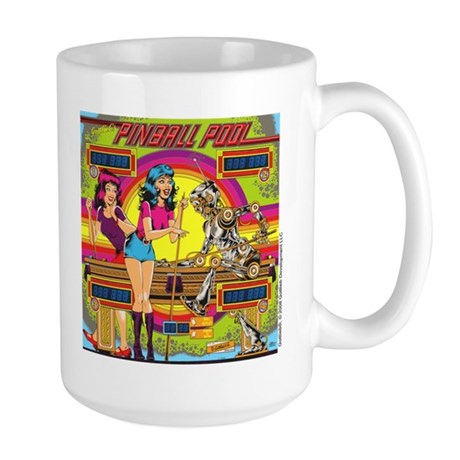 "Gottlieb® ""Pinball Pool"" Large Mug"