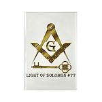 Light of Solomon #77 Rectangle Magnet (100 pack)