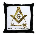 Light of Solomon #77 Throw Pillow