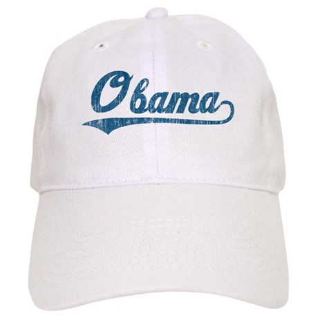 Obama (baseball-blue-vintage) Cap