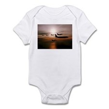 F-16 Falcons Refueling Infant Bodysuit