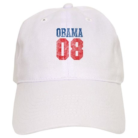 Obama 08 (red and blue) Cap