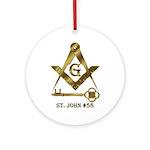 St. John #58 Ornament (Round)
