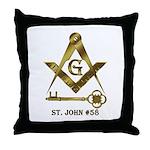 St. John #58 Throw Pillow