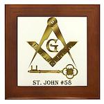 St. John #58 Framed Tile