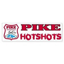Pike Hotshots Bumper Sticker 1