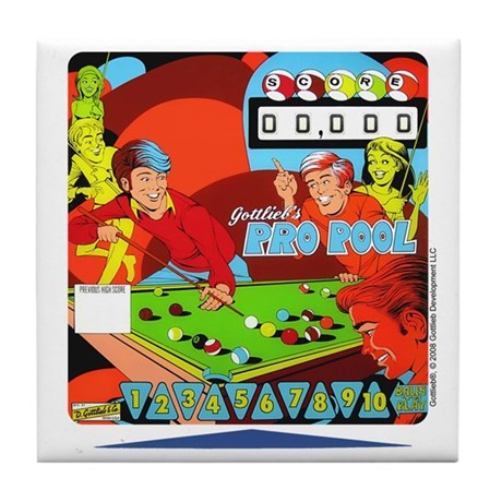 "Gottlieb® ""Pro Pool"" Tile Coaster"