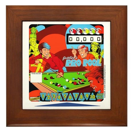 "Gottlieb® ""Pro Pool"" Framed Tile"