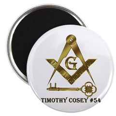 Timothy Cosey #54 Magnet
