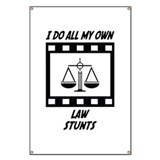 Law Stunts Banner