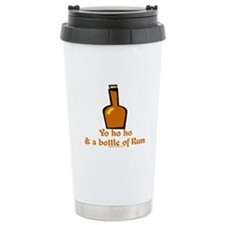 Bottle of Rum Tran Ceramic Travel Mug