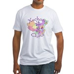 Xuchang China Map Fitted T-Shirt