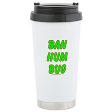 Dark Big Bah Hum Bug Ceramic Travel Mug