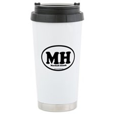 Marshall Islands Ceramic Travel Mug