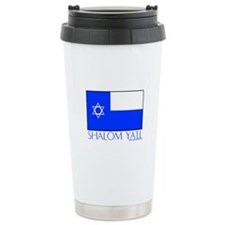 Isreal Shalom Ya'll Ceramic Travel Mug
