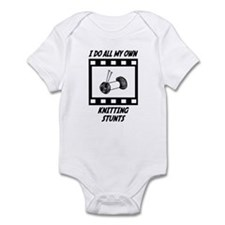 Knitting Stunts Infant Bodysuit