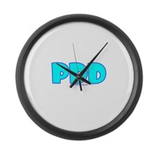 PDD Large Wall Clock
