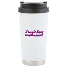 I Taught Kinsey Ceramic Travel Mug