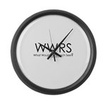 What would Rorschach See? Large Wall Clock