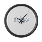 Wierdo Large Wall Clock