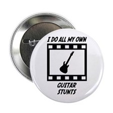 "Guitar Stunts 2.25"" Button"