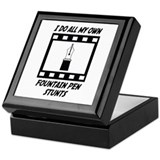 Fountain Pen Stunts Keepsake Box