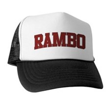 RAMBO Design Trucker Hat