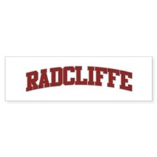 RADCLIFFE Design Bumper Bumper Sticker