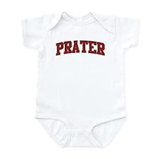 PRATER Design Infant Bodysuit