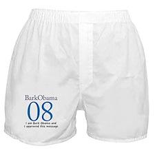 Bark Obama 08 Boxer Shorts