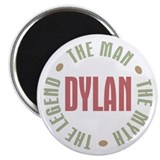 "Dylan Man Myth Legend 2.25"" Magnet (100 pack)"