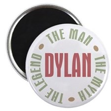 "Dylan Man Myth Legend 2.25"" Magnet (10 pack)"
