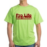 Pro Life Anti Obama T-Shirt