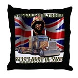 Support our British Troops Throw Pillow