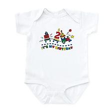 Choo Choo Second Birthday Infant Bodysuit