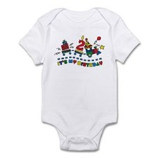 Choo Choo Second Birthday Onesie