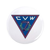 "Cute Uss dwight d eisenhower 3.5"" Button (100 pack)"
