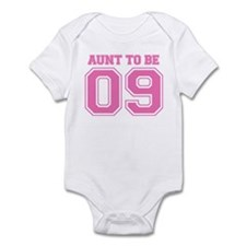 Aunt To Be 09 (Pink) Infant Bodysuit