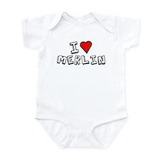 I Love Merlin Infant Bodysuit