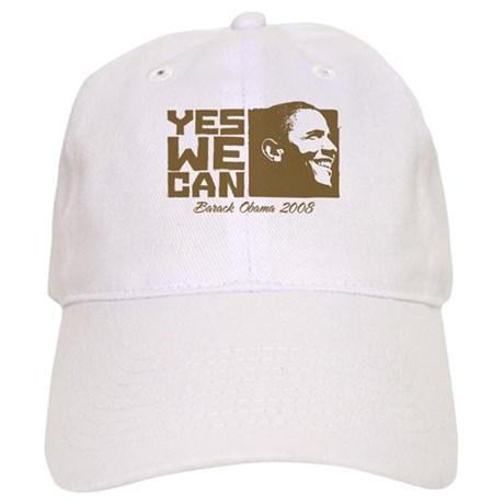 Yes We Can (brown) Cap