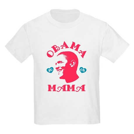 Obama Mama Kids Light T-Shirt
