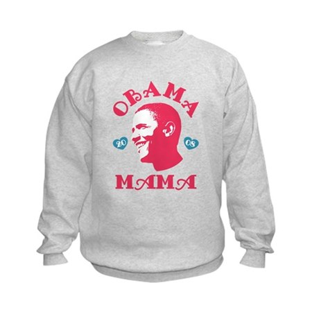 Obama Mama Kids Sweatshirt