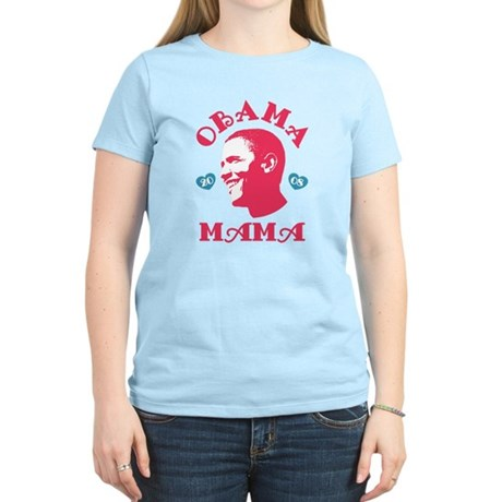 Obama Mama Womens Light T-Shirt