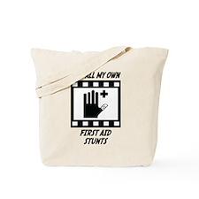 First Aid Stunts Tote Bag