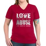 Love Does Not Mean Abuse Shirt