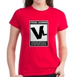 Visual Learner Women's Dark T-Shirt